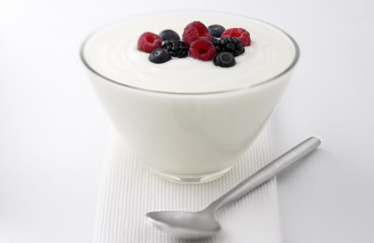 yogurt-and-fruit-with-spoon